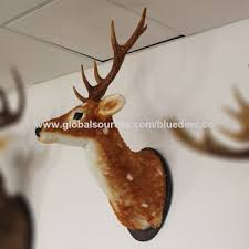 Christmas Decor Deer Head by China Wall Hanging Faux Spotted Deer Head From Weihai Manufacturer