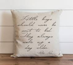 Little Boys Should Never Be Sent To Bed Pillows U2013 Baby U2013 Porter Lane Home