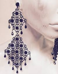 pretty liars earrings emily earrings pre order special prom earrings fancy and prom