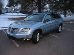 2004 chrysler pacifica blue image 54