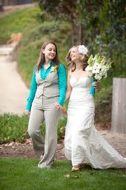 tomboy wedding dress for of when the doesn t want a dress picture