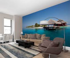 tropical beach wall mural wall murals ireland beach island mural by www wallmurals ie