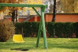 saving money on backyard swing sets and play equipment