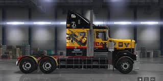 kenworth shop kenworth t908 big mama tattoo skin mod american truck simulator