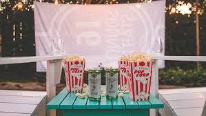 Backyard Movie Night Backyard Movie Night Barefoot Wine U0026 Bubbly