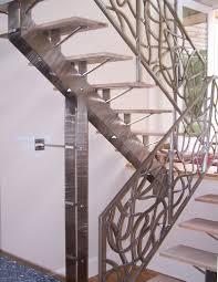 stainless steel railing u0026 fireplace u2014 spirit ironworks