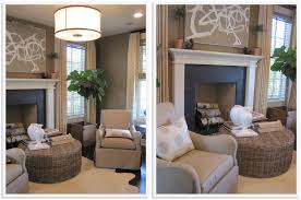 gorgeous southern living rooms rooms gray and white brick peel