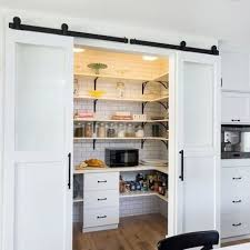 Sliding Bypass Barn Door Hardware by Bypass Barn Doors Canada Custom Sized Interior Double Barn Doors