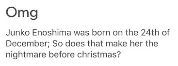 Christmas Memes Tumblr - danganronpa tag on tumblr christmas giggles pinterest anime