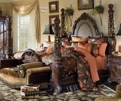aico essex manor four poster bed bedroom set master bedroom