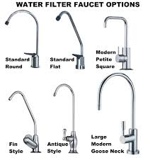 Water Faucets Kitchen Kitchen Water Filter System Faucet U2013 Standard Round U2013 H2o Purified