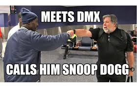 Dmx Meme - dmx meets apple co founder steve wozniak rap dose