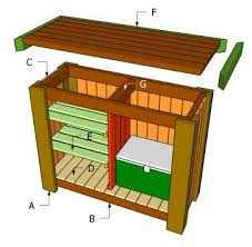 Free Outdoor Wood Project Plans by Best 25 Homemade Outdoor Furniture Ideas On Pinterest Outdoor