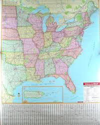 map usa states with cities us eastern states highway map map of east coast usa with cities