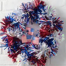 4th of july wreaths 15 minute fourth of july wreath diy candy