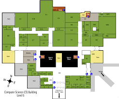 Pre K Classroom Floor Plan Computer Science U0026 Engineering Building Map Maps Home