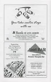 ann arbor halloween city ann arbor civic theatre program tommy june 06 2002 ann arbor
