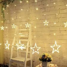 Led Light Curtains with Laimaik 2m Christmas Holiday Lighting Led Fairy Star Curtain