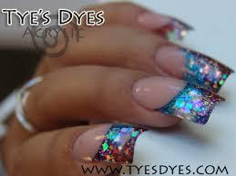 glitter acrylic nail designs pre mixed acrylic nail color