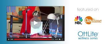 Ottlite Desk Lamp With Colour Base by Ottlite Natural Daylight Lighting Floor Lamps Reading Lamps