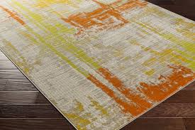 Grey And Orange Rug Grey And Lime Green Rug Rug Designs