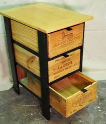 Wooden Crate Nightstand Diy Ideas With Milk Crates Or Wooden Crates