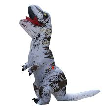 white t rex inflatable dinosaur costume cosplay animal halloween
