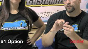 motorcycle handlebars how to install internal wiring video