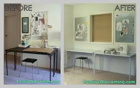 trendy home office desk with printer storage home office shop