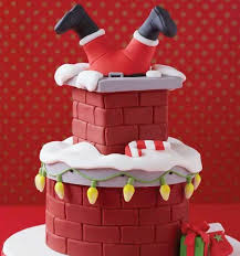 Vintage Christmas Cake Decorations Reindeer by Best 25 Santa Cake Ideas On Pinterest Christmas Cake Pops Xmas