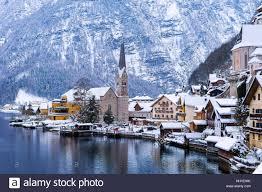 hallstatt austria winter stock photos u0026 hallstatt austria winter