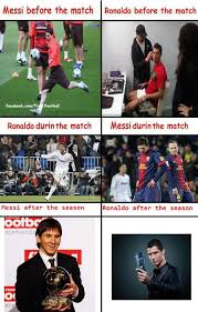 Funny Messi Memes - football memes messi vs ronaldo epic