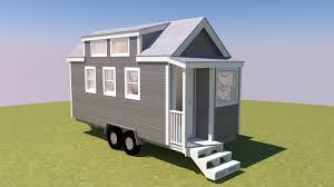 the talmage is a 20 foot long tiny house on wheels with a 10 12
