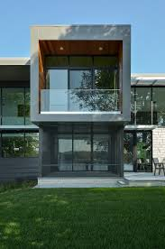 simple modern house design simple modern house balcony glass wall design has wide glasses