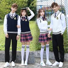high class suits suits college wind korean high school students autumn