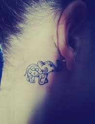 cover tattoo behind your ear 55 elephant tattoo ideas elephant tattoos tattoo and tatting