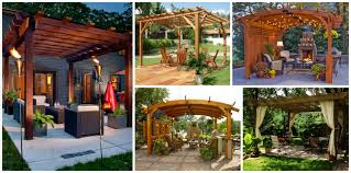 Modern Pergola Designs by Garden Decor Archives Top Inspirations
