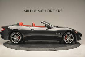 all black maserati 2017 2017 maserati granturismo convertible sport stock m1636 for sale