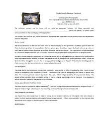 event contract template 6 catering contract template free