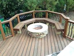 curved fire pit bench cushion outdoor fire pit benches deck with