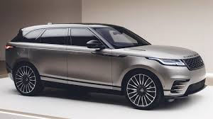 land rover gray range rover velar debuts at the geneva motor show