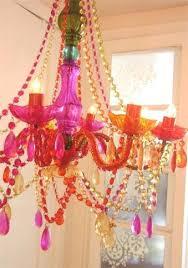 Plastic Chandelier Plastic Chandelier Pinkfolio