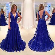 formal gowns royal blue lace prom dresses prom dresses lace formal dresses