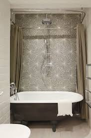 Clawfoot Tub Shower Curtain Rod You Can Make Yourself Wrap Around Shower Curtain Rod Fraufleur Com