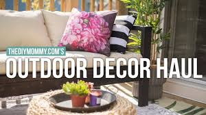 Outdoor Home Decorations by Outdoor Home Decor Haul Vlogust Day 25 Youtube