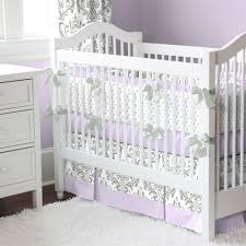 Zebra Nursery Bedding Sets by Lilac And Gray Traditions Damask Nursery Collection Baby Crib