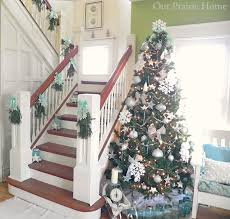 Handrail Christmas Decorations Dollar Tree Christmas Link Party Features And 100 Ideas Fox