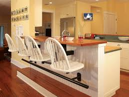 wooden kitchen counter bar stools the wooden kitchen