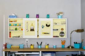 Tool Bench Organization Remodelaholic Build An Organized Pegboard Tool Cabinet And
