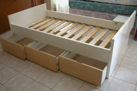 Twin Size Bed Frame With Drawers Perfect Bed With Drawers Twin Bedroom Ideas And Inspirations